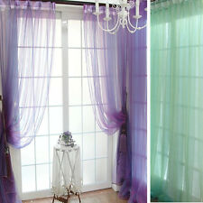 Sheer Voile String Door Curtain Window Room Curtain Divider Gorgeous