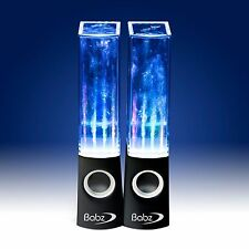 DANCING WATER LED MUSIC FOUNTAIN JET LIGHT SPEAKERS IPHONE IPOD SAMSUNG LAPTOP