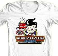TERMINUS The Walking Dead T-shirt zombies horror tasteless humor graphic tee