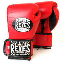 Cleto Reyes Fit Cuff Boxing Training Gloves - Red