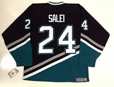 RUSLAN SALEI ANAHEIM MIGHTY DUCKS CCM VINTAGE JERSEY
