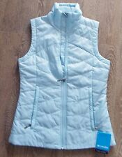 NEW COLUMBIA MORNING LIGHT Insulated VEST OMNI-HEAT SHIELD Blue  NWT $90 Womens