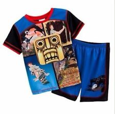 Temple Run Pajamas Top and Shorts Set Size 4-5, 6-7 or 8 New 2 piece