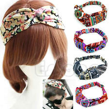 Chic Womens Girls Chiffon Turban Twisted Head Wrap Knotted Hair Band Headband