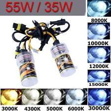 2pcs 55W Xenon HID Replacement Kit Bulb Headlight H1 H3 H7 H8 H9 H10 H11 9005 TS