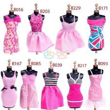 Kid Child Girl Fashion Evening Dresses Clothes for Barbie Dolls Outfit Dress Set