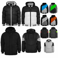 Urban Classics   Men Winter Jacket With Hood Parka Coat Snowboard Jacket