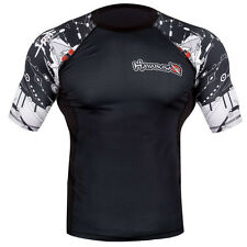 Hayabusa Tech Falcon Short Sleeve Rashguard - Black