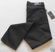 "7 for all Mankind Mens ""Slimmy"" Slim Straight Leg ""Clean Gray"" Colored Jeans"