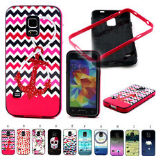 New Rubber + PC Bumper Hybrid Case Cover For Various Samsung Galaxy Mobile Phone