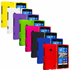 For Nokia Lumia 520 Snap-On Hard Rubberized Matte Case Cover Accessory