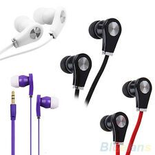 Earphone Headset Headphone 3.5mm In-Ear Earbuds For iPhone MP3 iPod PDA PSP CD