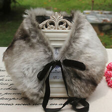 New Fashion Delux winter lace imitation fur fake collar warm scarf neckerchief