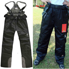 Mens 2in1 Fleece Lined Trousers Warm Waterproof Ski Snowboard Outdoor Pants
