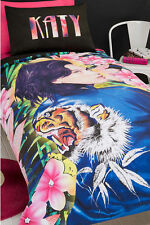 Katy Perry Roar Licensed Queen Bed Quilt Cover Set Teenager Pop Icon Bedding