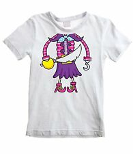 PIRATE GIRL FANCY DRESS KIDS T-SHIRT Party Do Night Costume Outfit Childrens