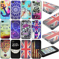 Mobile Phone Hard Skin Shell Cover Case Accessories For Apple iPhone 4 4G 4S 4GS