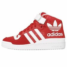 Adidas Originals Forum Mid RS XL Red White Leather 2015 Mens Casual Shoes