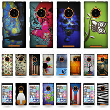 Hard Slim 1pc Back Shell Protective Design Phone Cover Case for Nokia Lumia 830