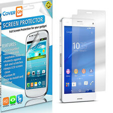 Clear Screen Protector Phone LCD Cover Guard for Sony Xperia Z3 Compact