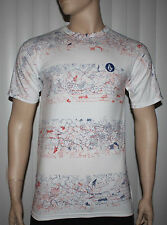Volcom RAD DAZZLE SS TEE White Graphic T-Shirt size choices available **