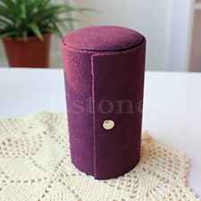 Velvet Jewelry Ring Bracelet Earring Storage Container Organizer Box Case Holder