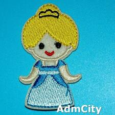 Iron on Sew Patch Beauty Embroidery Applique Badge Cute Girl Biker Rock