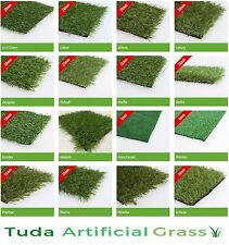 SAMPLE Astro Artificial Garden Grass Realistic Natural Looking Turf & Lawn