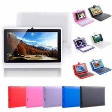 """7"""" Google Android 4.1 4GB Touch Mid Tablet PC Wi-Fi Camera w/ Keyboard/PU Case"""