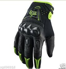 Motorcycle glove leather carbon fiber, summer ventilation protection