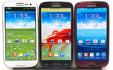 Samsung Galaxy S3 S III Phone AT&T Verizon Sprint T-mobile Blue White Red LIB