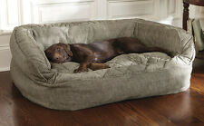 Orvis Lounger Deep Dish Dog Bed - Large Dogs 60-120 Lbs.