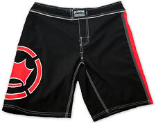 Dethrone Anticrown 2.0 MMA Fight Shorts - Black/Red