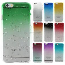For iPhone 6 4.7'' THIN 3D AQUA WATER RAINDROP CRYSTAL STYLE BACK CASE COVER E66