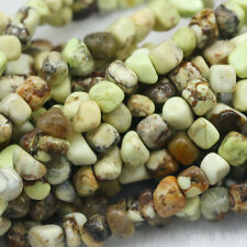 """Natural Genuine Australia Yellow Turquoise  Nugget Loose Beads Free Form 16"""""""