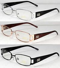 New Mens Womens DG Eyewear Clear Lens Frames Eye-Glasses Rectangular Fashion Uni