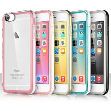 ULAK® Ultra Thin Clear Rubber Hybrid Bumper Case Cover For iPhone 6 Plus 5.5""
