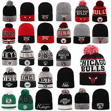 MITCHELL & NESS AND BEANIE WINTER MÜTZE CAP CHICAGO BULLS KINGS NETS CELTICS