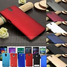 Matte Slim Thin PC Plastic Hard Snap On Back Case Cover Skin For Cell Phones