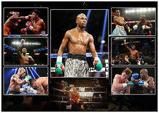 FLOYD MONEY MAYWEATHER SIGNED BOXING MATTED PHOTOGRAPH