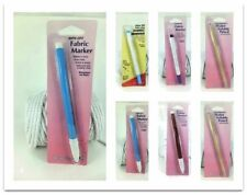 Hemline & Sew Easy Fabric Markers Vanish Wipe Off  Pens Water Soluble Pencils