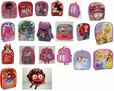 NEW Girls Character Variety Onboard Backpacks Ideal for School Nursery Days out
