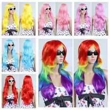 """30"""" Fashion Women's Long Wavy Costume Cosplay Party Heat Resistant Hair Full Wig"""