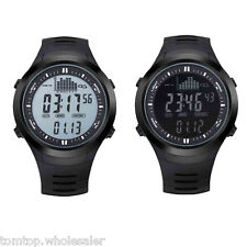 Fishing Watch Barometer Altimeter Thermometer Weather Digital 3ATM Waterproof