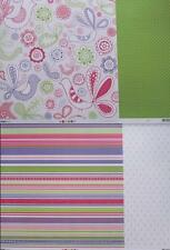 "12""X12"" Scrapbook Paper La Di Da Collection Double Sided 2 designs to choose"