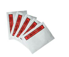 DOCUMENT ENCLOSED ENVELOPES - Printed & Plain - A7 A6 - Postal Wallet