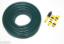 Garden Hose Braded H/D Tool With Hozelock Compatible Spray Fittings - 10 - 100M