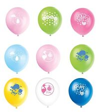 "Baby Shower 8 x 12"" Latex Balloons (Girl/Boy/Party/Heium/Air/Decoration)"