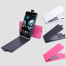 "For 5"" Pantech VEGA IRON A870L A870S A870K phone Flip Shell Cover Leather Case"