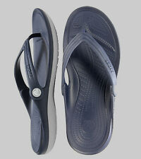 Crocs Duet Flip Navy / Light Grey Men Women All Size 4 5 6 7 8 9 10 11 12 13